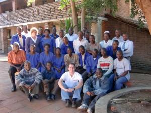 Nkhoma Eye Hospital team